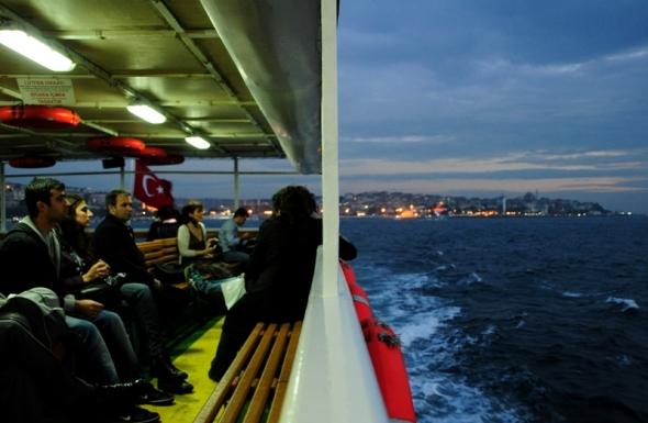 teknede / on the boat