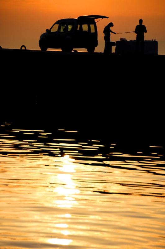 balık tutanlar / fishing people